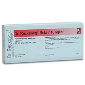 Picture of Dr. Reckeweg R 10 Injection Irregular Menstruation