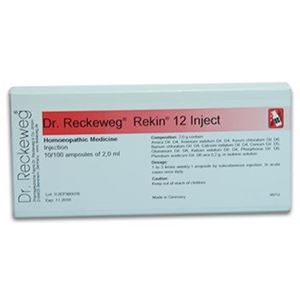 Picture of Dr. Reckeweg R 12 Injection Calcifications Problem
