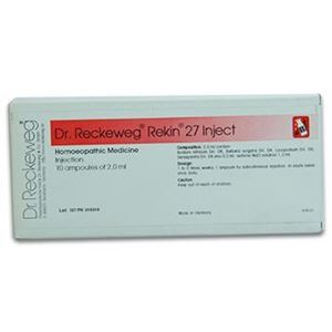 Picture of Dr. Reckeweg R 27 Injection Kidney Stone Problems