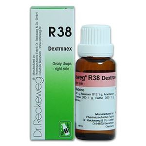 Picture of Dr. Reckeweg R 38 Affections of the abdomen (right side) - 22 ML