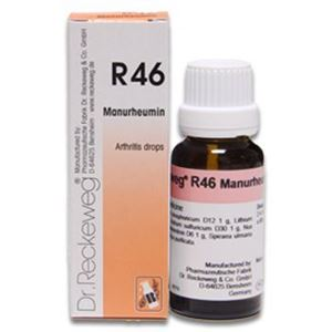 Picture of Dr. Reckeweg R 46 In rheumatism of fore-arms and hands - 22 ML