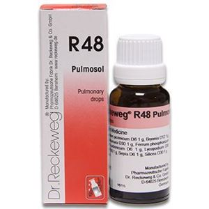 Picture of Dr. Reckeweg R 48 Pulmonary diseases - 22 ML