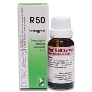 Picture of Dr. Reckeweg R 50 Gynecological Sacroiliac Complaints - 22 ML
