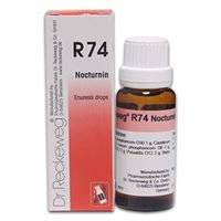 Picture of Dr. Reckeweg R 74 Bed Wetting Drops for Nocturnal Enuresis - 22 ML