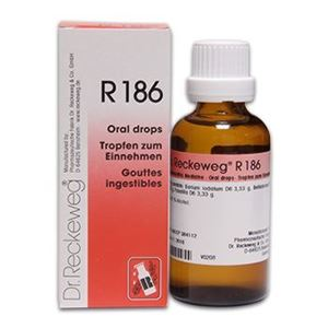Picture of Dr. Reckeweg R 186 Mumps Drops - 50 ML