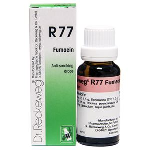 Picture of Dr. Reckeweg R 77 Anti-Smoking Drops - 22 ML