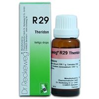 Picture of Dr. Reckeweg Germany R 29 Vertigo Syncope - 22 ML