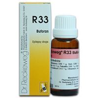 Picture of Dr. Reckeweg R 33 Constitutional Treatment in Epilepsy - 22 ML
