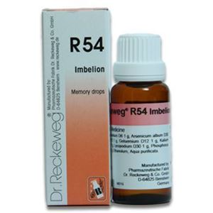 Picture of Dr. Reckeweg R 54 Memory Drops - 22 ml