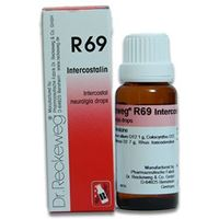 Picture of Dr. Reckeweg R 69 Drops for Pain Between The Ribs - 22 ML