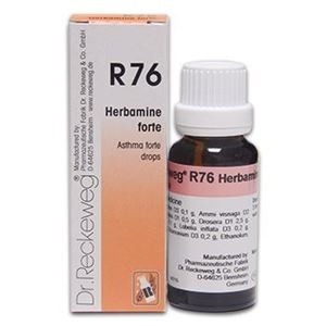 Picture of Dr. Reckeweg R 76 Asthma Forte Drops - 22 ML