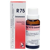 Picture of Dr. Reckeweg R 75 Dysmenorrhoea Drops - 22 ML